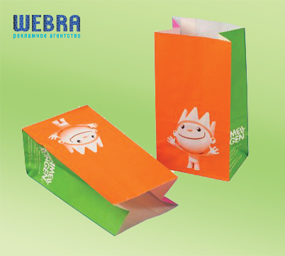 изготовим бумажные пакеты для еды