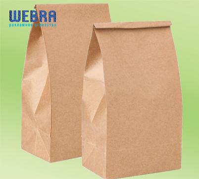 бумажный пакет для еды